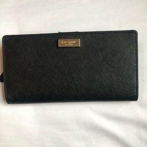 Kate Spade ♠️ black wallet
